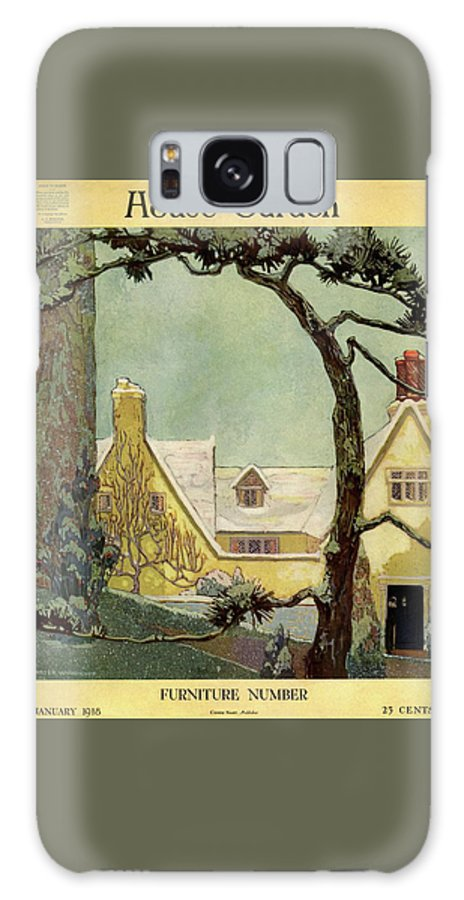 House And Garden Galaxy S8 Case featuring the photograph An English Country House by Porter Woodruff