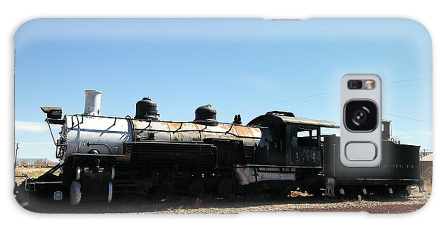 Trains Galaxy S8 Case featuring the photograph An Old Engine by Jeff Swan