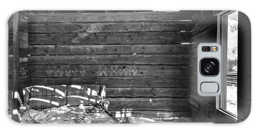 Black And White Galaxy S8 Case featuring the photograph An Old Homestead by Irene Theriau