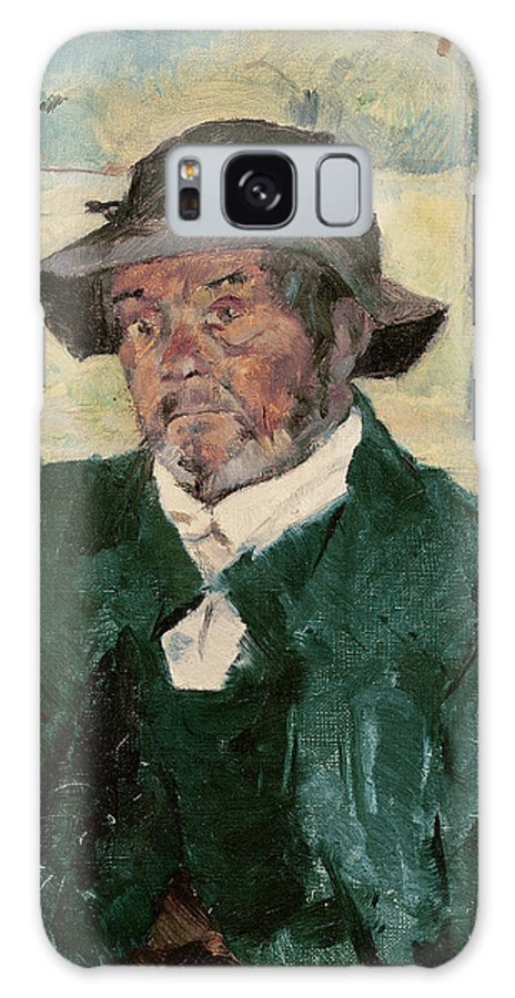 Un Vieil Homme Galaxy S8 Case featuring the photograph An Old Man, Celeyran, 1882 Oil On Canvas by Henri de Toulouse-Lautrec
