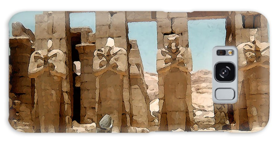 Art Galaxy S8 Case featuring the photograph Ancient Egypt by Piero Lucia