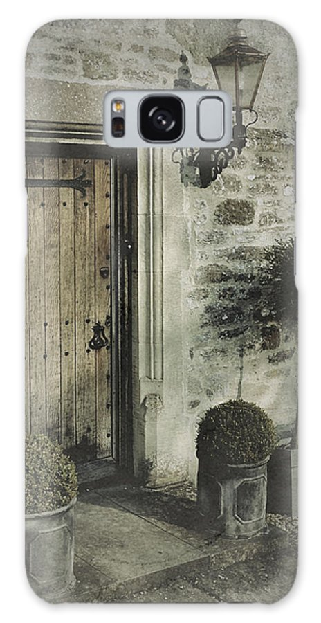 Doorway Galaxy S8 Case featuring the photograph Ancient Medieval Door by John Colley