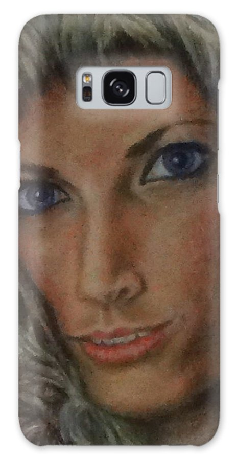 Paintings Galaxy S8 Case featuring the painting Andrea by Jennifer Calhoun