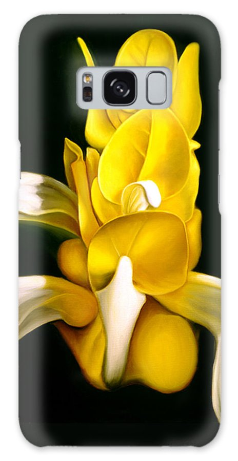 Flower Galaxy S8 Case featuring the painting Angel Flower by Anni Adkins