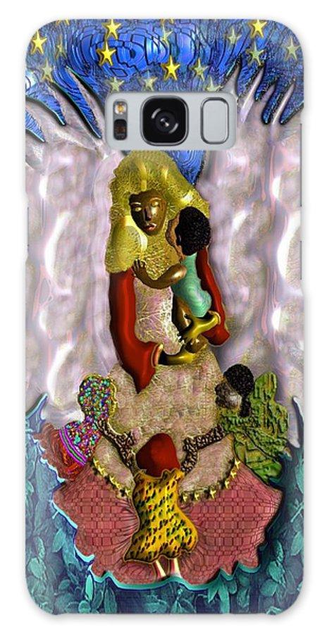 Religion Galaxy S8 Case featuring the digital art Angel by John Clarke