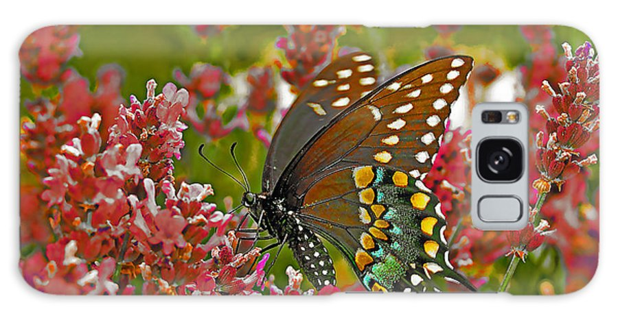 Butterfly Galaxy S8 Case featuring the photograph Angel Of The Wildflowers by Brian Graybill