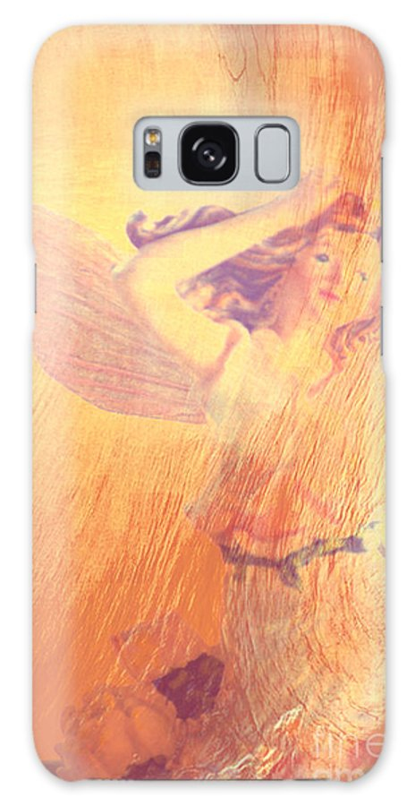 Christmas Galaxy S8 Case featuring the photograph Angel Time by Susanne Van Hulst