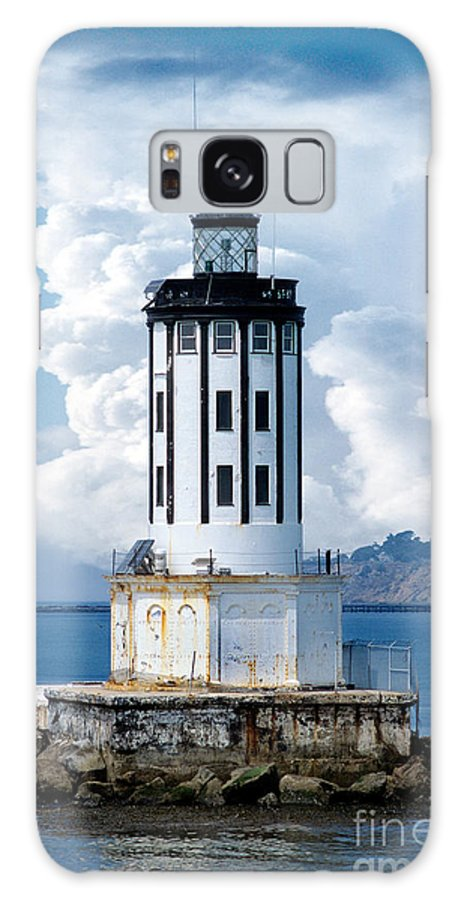 Angel's Gate Lighthouse Galaxy S8 Case featuring the digital art Angel's Gate Lighthouse by Wernher Krutein