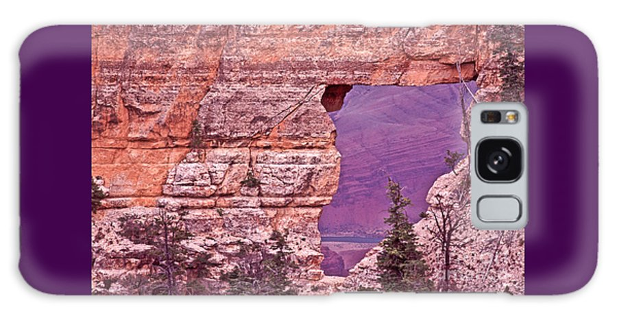 Angel's Window Galaxy S8 Case featuring the photograph Angel's Window Grand Canyon by Liz Leyden
