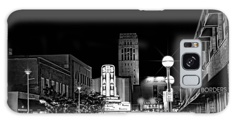 Ann Arbor Galaxy S8 Case featuring the photograph Ann Arbor Nights by Pat Cook