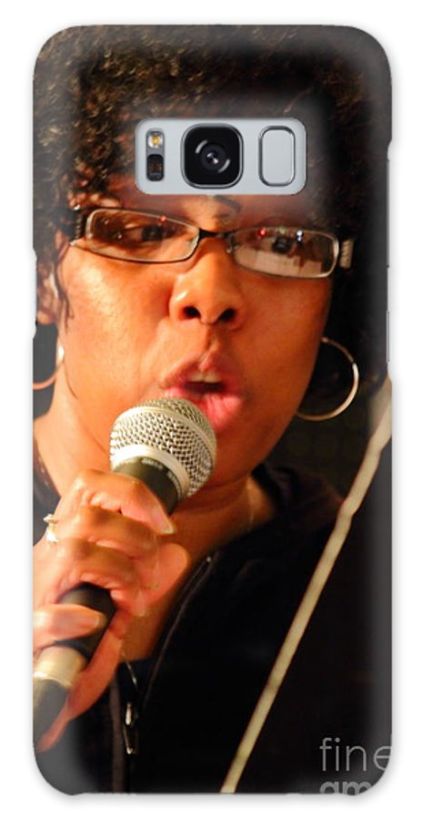 Poet Galaxy S8 Case featuring the photograph Ann Marie by Jesse Ciazza