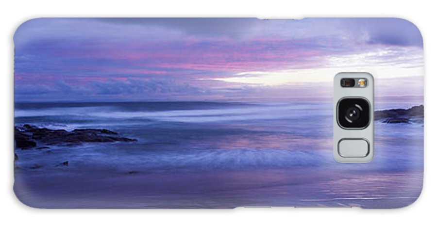 Australia Galaxy S8 Case featuring the photograph Anna Bay Sunset by Paul and Helen Woodford