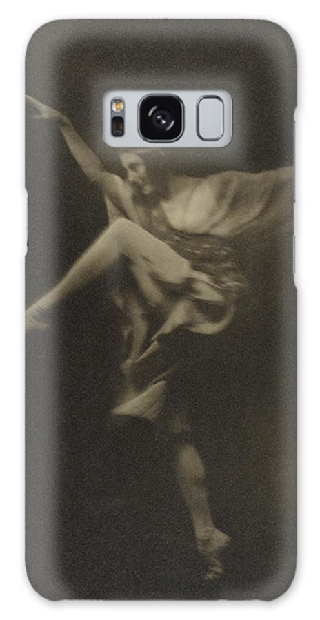 Anna Galaxy S8 Case featuring the drawing Anna Pavlowa Arnold Genthe, American by Litz Collection