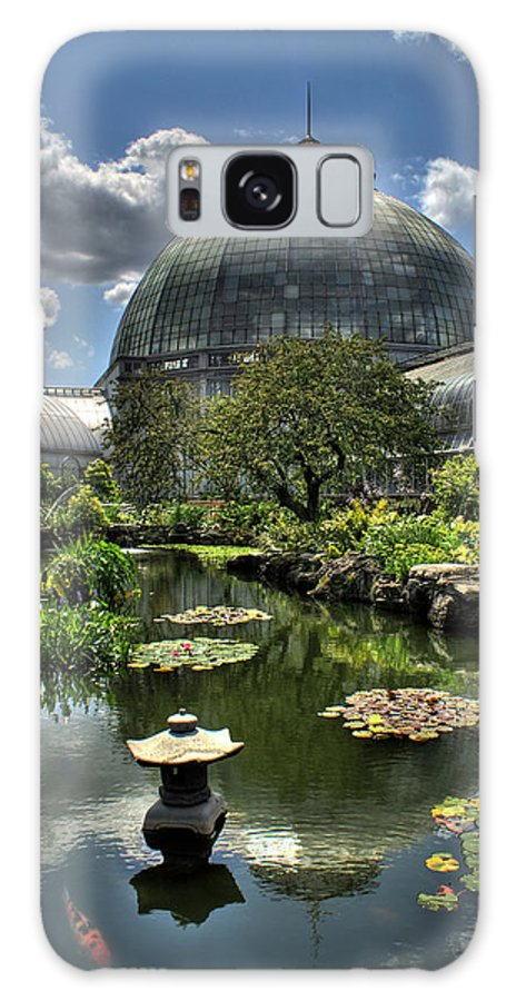 Anna Scripps Whitcomb Galaxy S8 Case featuring the photograph Anna Scripps Whitcomb Conservatory Detroit by Rod Arroyo