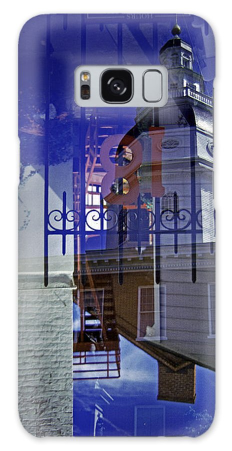Scenic Tours Galaxy S8 Case featuring the photograph Annapolis Mistake by Skip Willits