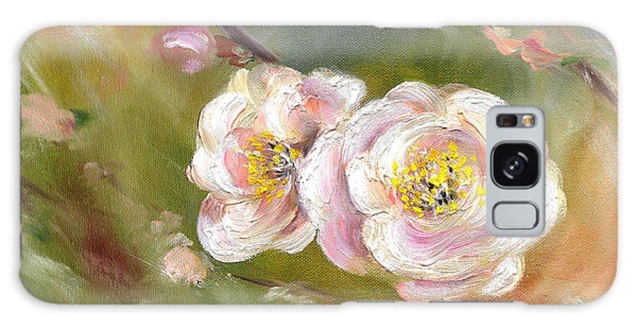 Flower Galaxy Case featuring the painting Anniversary by Hiroko Sakai