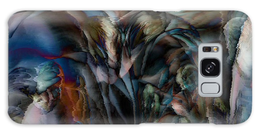 Another World Art Galaxy S8 Case featuring the digital art Another World by Linda Sannuti