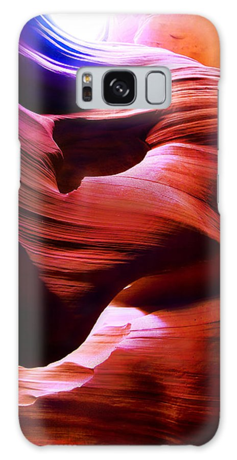 Edward Pollick Galaxy S8 Case featuring the photograph Antelope Canyon 2 by Edward Pollick