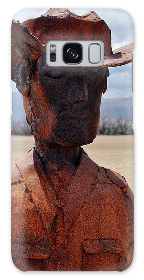 Anza Borrego Galaxy S8 Case featuring the photograph Anza Borrego Cowboy by Kyle Hanson