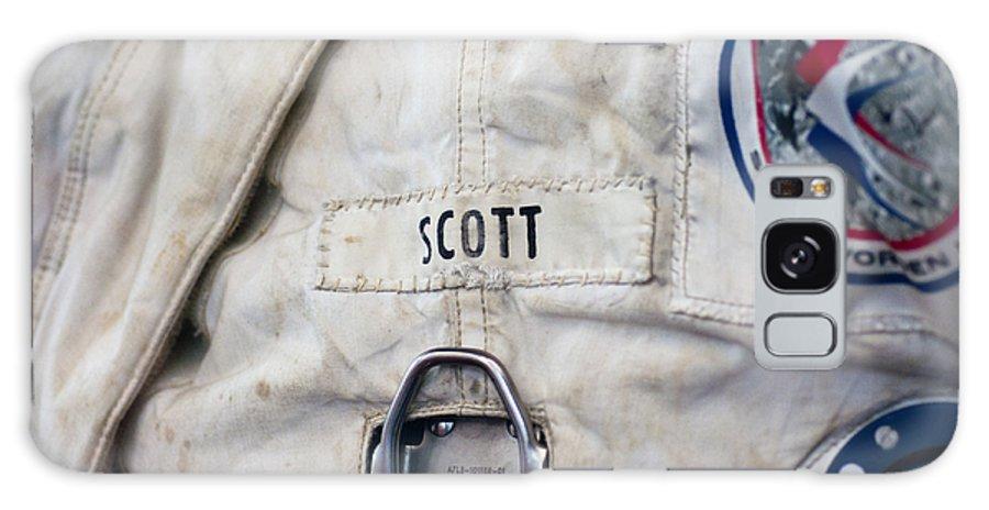Nasa Galaxy S8 Case featuring the photograph Apollo Lunar Suit by Christi Kraft