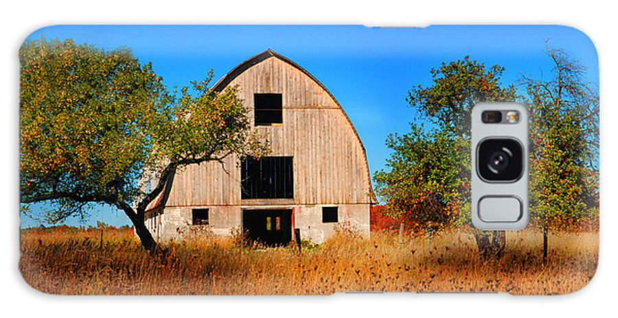 Barn Galaxy S8 Case featuring the photograph Apple Tree Barn by Dennis Early