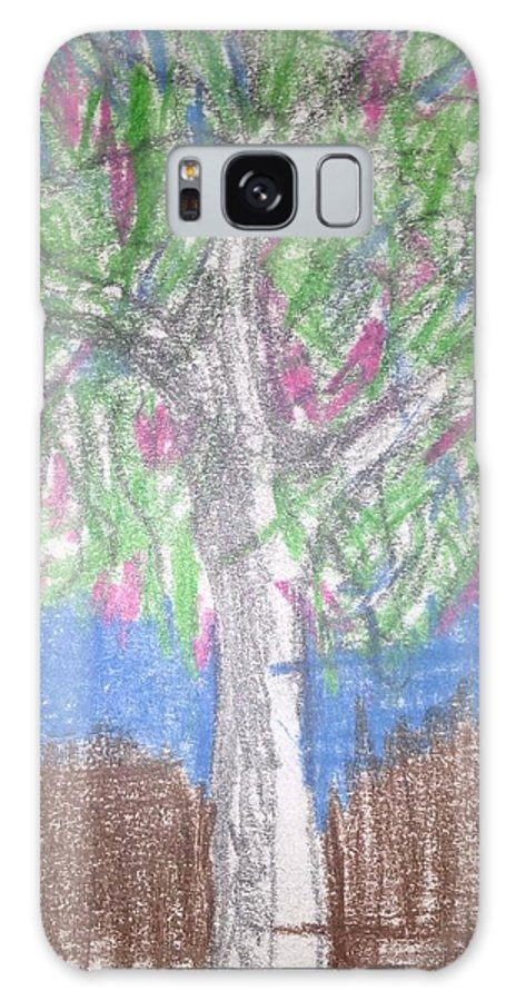Tree Galaxy S8 Case featuring the drawing Apple Tree by Erika Chamberlin