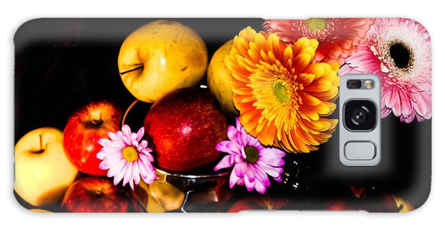 Galaxy S8 Case featuring the photograph Apples And Suflowers by Gerald Kloss