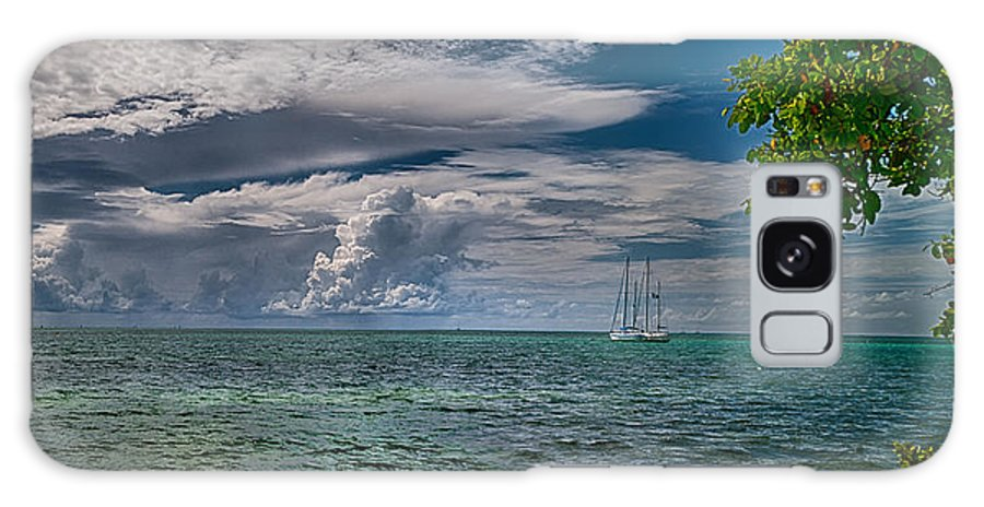 Clouds Galaxy S8 Case featuring the photograph Approaching Storm At Whale Harbor by Robert Swinson