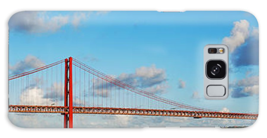 April Galaxy S8 Case featuring the photograph April 25th Bridge In Lisbon by Luis Alvarenga