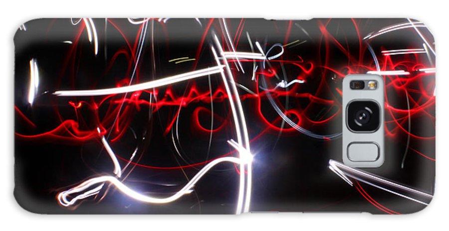 Light Galaxy S8 Case featuring the photograph Arabian Night...light Painting by Adam Long