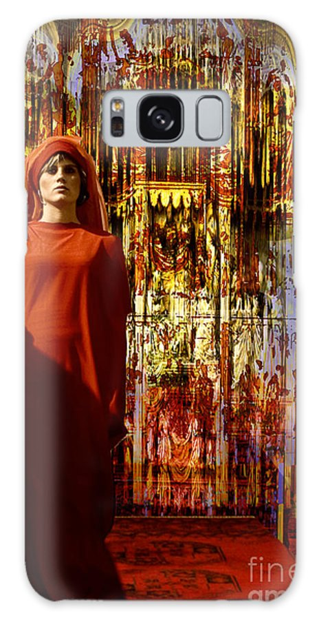 Models Galaxy S8 Case featuring the digital art Arabien Night by Angelika Drake