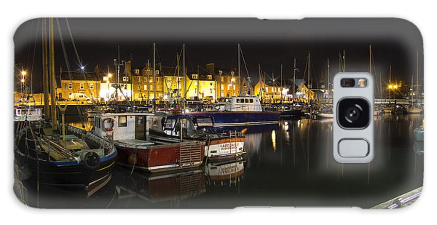 Landscapes Galaxy S8 Case featuring the photograph Arbroath Harbour by Kenneth Le Grice