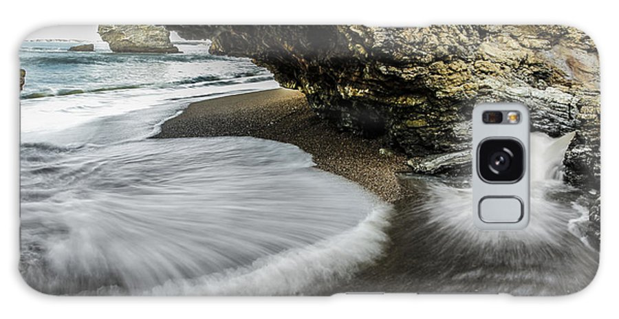 Ocean Galaxy S8 Case featuring the photograph Arch Rock by Philip Tolok