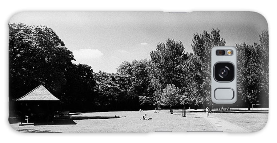 Archbishops Galaxy S8 Case featuring the photograph archbishops park lambeth London England UK by Joe Fox