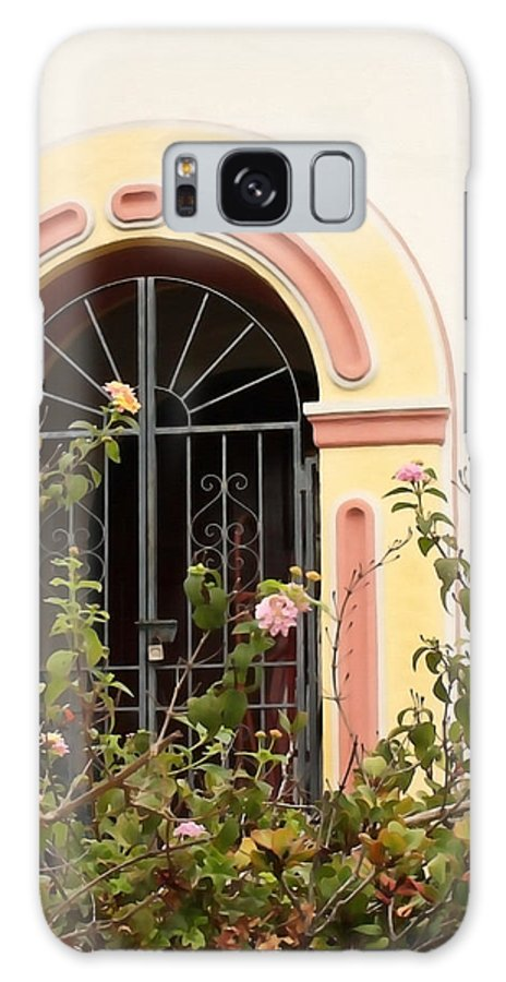 Santa Barbara Galaxy S8 Case featuring the photograph Arched And Gated by Art Block Collections