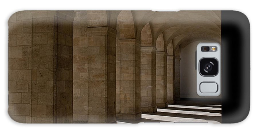 Colonnaded Galaxy S8 Case featuring the photograph Arches by Lana Enderle