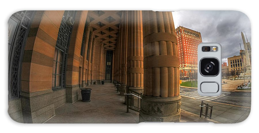 Architecture Galaxy S8 Case featuring the photograph Architecture And Places In The Q.c. Series 03 City Hall by Michael Frank Jr