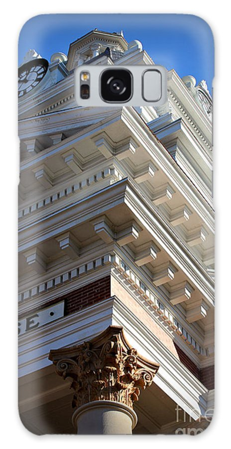 Reid Callaway Architecture Galaxy S8 Case featuring the photograph Architecture In The Morgan County Court House by Reid Callaway