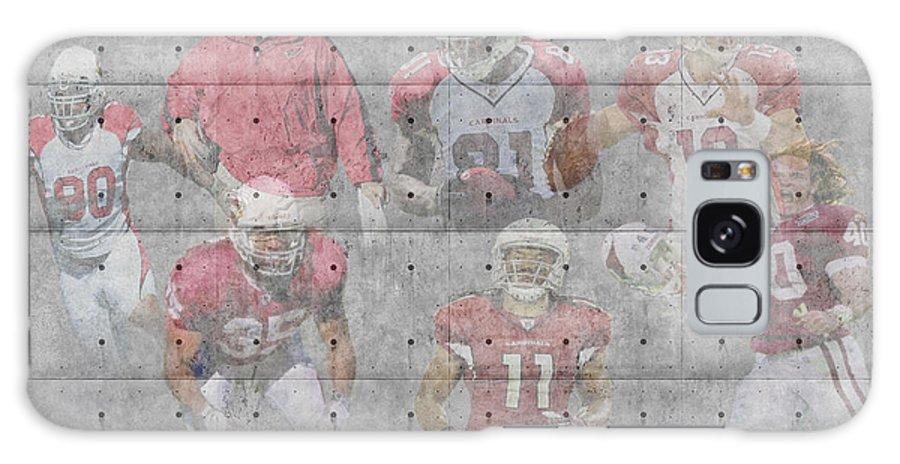 Cardinals Galaxy S8 Case featuring the photograph Arizona Cardinals Legends by Joe Hamilton