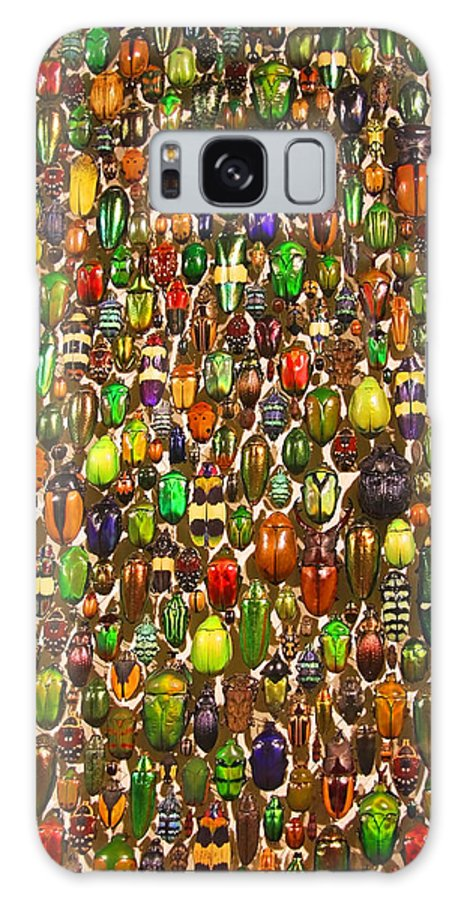Beetles Photo Galaxy S8 Case featuring the photograph Army Of Beetles And Bugs by Brooke T Ryan
