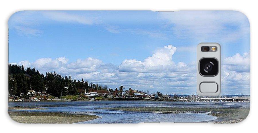 Beach Galaxy S8 Case featuring the photograph Arness Park Beach by Vicki Maheu
