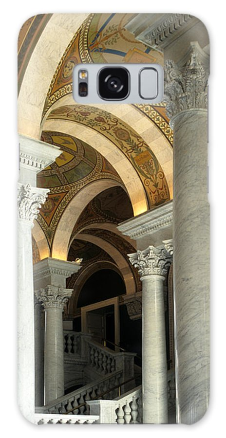 Jefferson Hall Galaxy S8 Case featuring the photograph Around And About by Sharon M Connolly