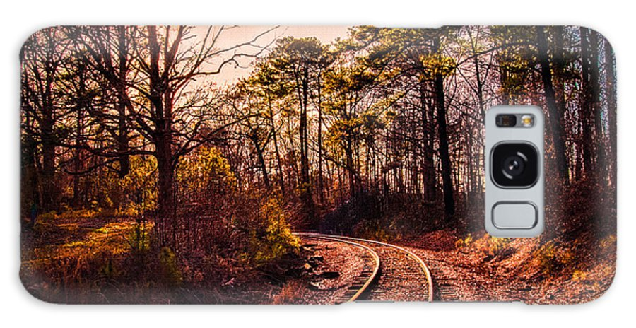 Weldon Galaxy S8 Case featuring the photograph Around The Bend by Robert Mullen