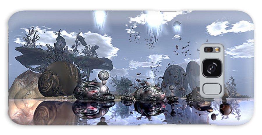 Digitale Galaxy S8 Case featuring the photograph Art Breeze by Lin Custodis