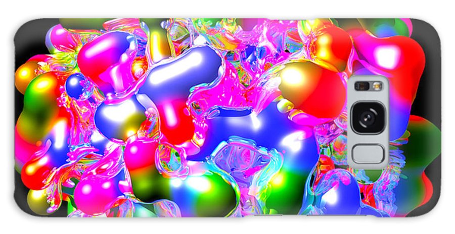 Color Galaxy S8 Case featuring the digital art Art In Coalescence... by Tim Fillingim