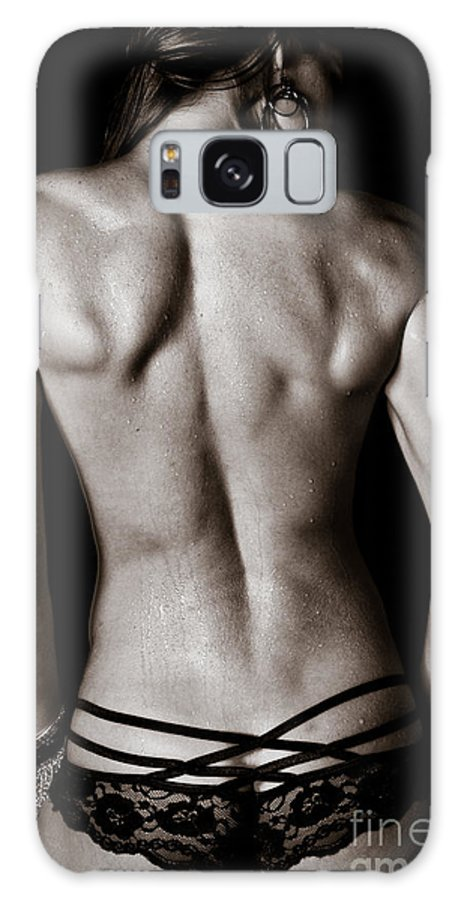 Woman Galaxy S8 Case featuring the photograph Art Of A Woman's Back Muscles by Jt PhotoDesign
