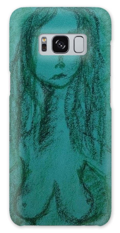 Woman Galaxy S8 Case featuring the photograph Art Therapy 149 by Michele Monk