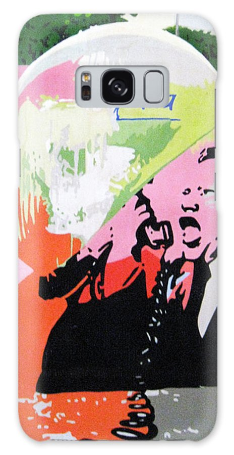 Street Art Galaxy S8 Case featuring the painting Arte Publica by Roberto de Lima Orta Betto