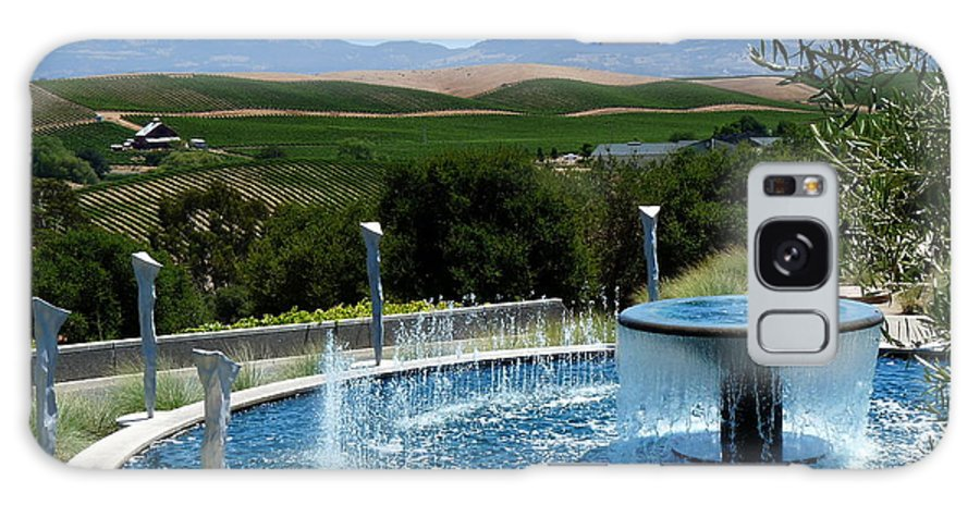 Artesa Galaxy S8 Case featuring the photograph Artesa Vineyard And Winery by Jeff Lowe