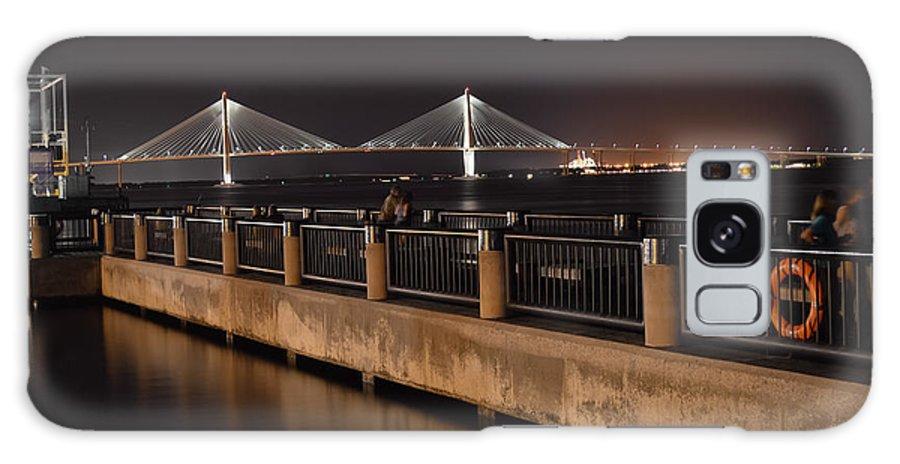Arthur Ravenel Jr. Bridge Galaxy S8 Case featuring the photograph Arthur Ravenel Jr. Bridge by Chris Collins
